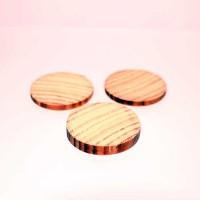 Cercuri lemn 4 buc diam. 35mm