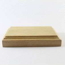 Panoplie placheta  lemn 9.5X7 cm