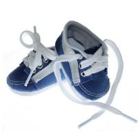 Pantofi tenisi 7cm albastru