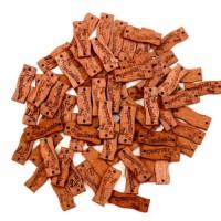 Etichete lemn Handmade cu inimioare 30bc