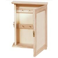 Cutie suport chei din lemn 14 x 20 x 5 cm
