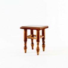 Scaun miniatura lemn natural  H 4.5cm