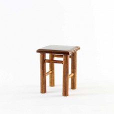 Scaun miniatura lemn natural  H 4.6cm