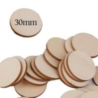 Felii lemn de 30mm diametru
