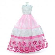 Rochie de gala pentru papusi barbie 03