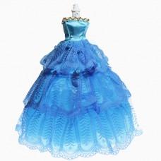 Rochie de gala pentru papusi barbie 02