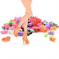 Set 15 perechi pantofi barbie