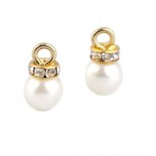 Set 5 pandantive cu perla pentru realizat cercei