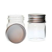 Mini borcan sticla H4cm