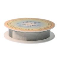 Sarma decorativa 0.4mm Argintiu