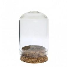 Mini dom  sticla pentru miniaturi 3x4cm