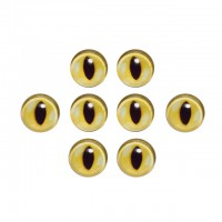 Ochi iris sticla 14mm REPTILA