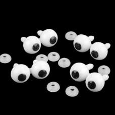 Ochi sferici cu capsa prindere  2bc+capse
