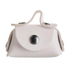 Mini geanta pentru papusi ALB