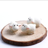 Oițe miniaturale 2cm pentru decorat