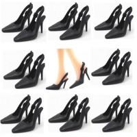 Set 5 perechi pantofi cu tot pentru Barbie