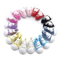 Pantofi tenisi 5cm ROSII
