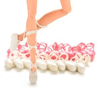 Set 10 perechi poante pentru barbie