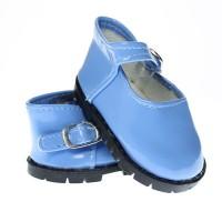 Pantofi 7.5cm Albastru deschis