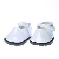 Pantofi 7.5cm pe ALB