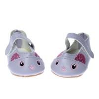 Pantofi papusi 7cm Violet