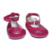 Pantofi pisicuta 7cm Rosii