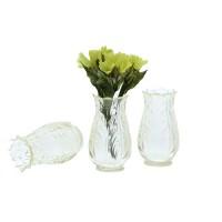 Vaza miniaturala transparenta 2.8cm