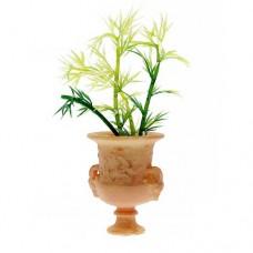 Vaza romana stil teracota cu planta