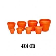Ghiveci ceramica 4 x 4 cm