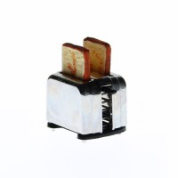 Prajitor de paine miniatural din metal