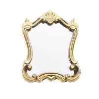 Oglinda cu rama baroc aurie