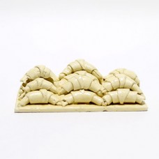 Platou Croissant miniatural