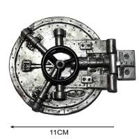 Usa seif din rasina/plastic metalizat