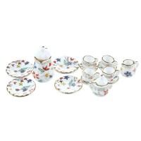 Set ceainic  de colectie din portelan