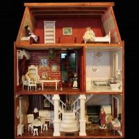 Casa DOLL HOUSE mobilata 3 niv