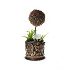 Jardiniera greceasca cu pom miniatural