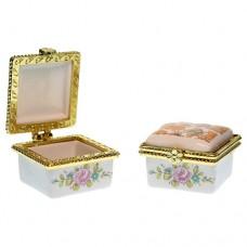 Caseta miniaturala portelan