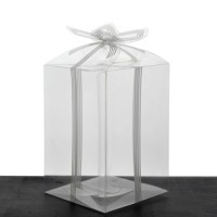 Cutie transparenta 11x7.5cm