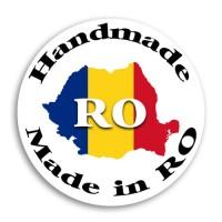 Etichete adezive Handmade in RO 54bc