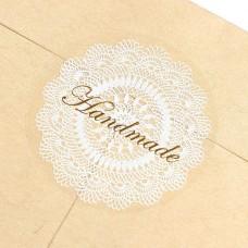 Etichete transparente Dantelate Handmade