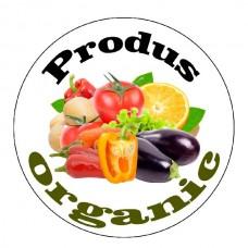 Set de 70 etichete Organic