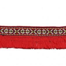 Banda cu franjuri motiv indian 3.5cm latime