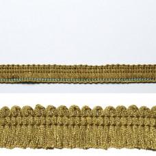 Banda verde cu franjuri 1.2cm