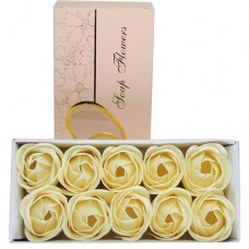 Trandafiri De Sapun set 10 buc CREM