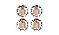 Set 70 etichete adezive Cadou Gift
