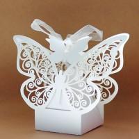 Cutie marturii nunta botez Fluture