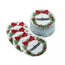 """Etichete Christmas """"Handmade """" 35buc"""
