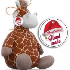 """Etichete Christmas """"Handmade """" 48buc"""
