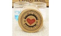 Etichete carton  Handmade with love 100bc
