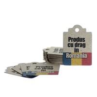 Etichete carton craft Produs Romania 42bc